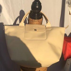 Longchamp Cream Bag
